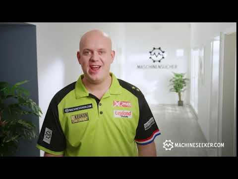 Michael van Gerwen - The No. 1 in Darts Recommends the No. 1 for Used Machinery