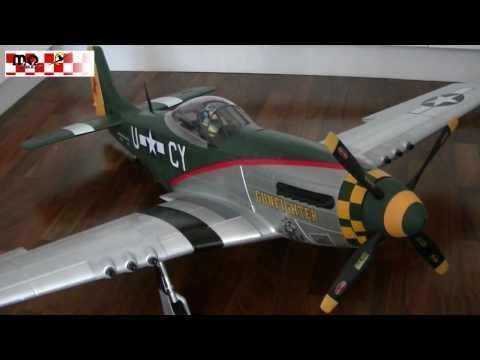 RC P-51 Mustang Warbird XXL 1600mm Review - UCAkNkfvuyDUCU_h7O6FKUNw