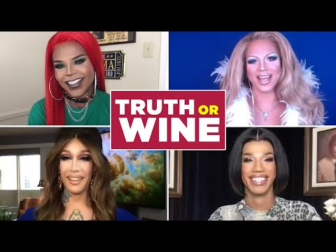 """The Queens Of """"RuPaul's Drag Race: Vegas Revue"""" Play Truth Or Wine"""