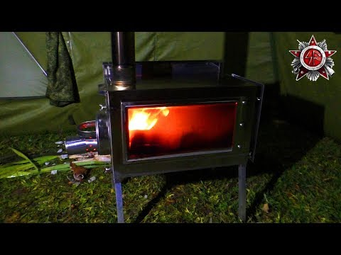 New Awesome 2018 Hot Tent Stove (PF Bereg Ekaterinburg)