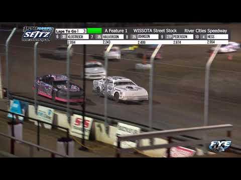 River Cities Speedway 9/9/21 WISSOTA Street Stock Final Laps - dirt track racing video image
