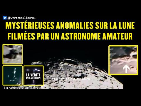 nouvel ordre mondial | Mystérieuses anomalies sur la Lune filmées par un astronome amateur