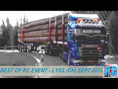 BEST OF RC TRUCK EVENT - LYSS SWITZERLAND,  SEPTEMBER 2015 - EXCAVATOR,TRUCKS,WHEEL LOADERS - UCJoHakn7zvSchmwSTCSD1vg