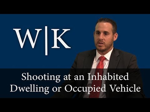 Shooting at an Inhabited Dwelling or Occupied Vehicle (246 PC)