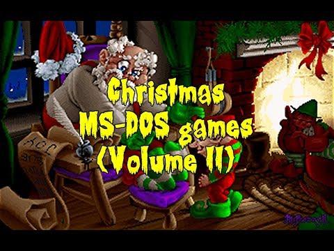 Christmas MS-DOS Games (Volume II)