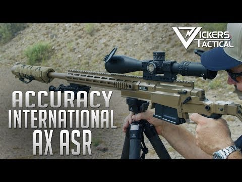 Accuracy International AX ASR - Gunsite 2019
