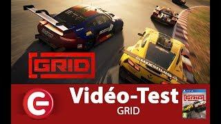 Vidéo-Test : [TEST/REVIEW] GRID - PS4 & Xbox One, un jeu de course qui se démarque ?