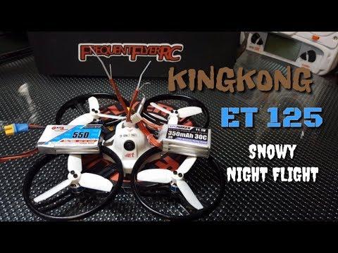 Kingkong ET 125 Snowy Night Flight - UCNUx9bQyEI0k6CQpo4TaNAw