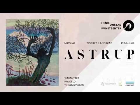 Nikolai Astrup - Norske landskap