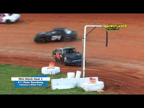 411 Motor Speedway   Mini Stocks   May 2 , 2014 - dirt track racing video image
