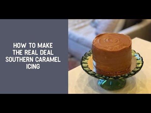 Southern Caramel Cake Tutorial