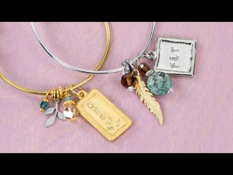 Artbeads Mini Tutorial - Metal Stamping Tips with Candie Cooper