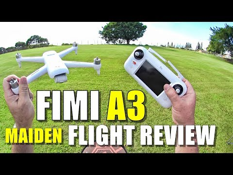 Xiaomi FIMI A3 Drone Review - Part 2 - [Maiden Flight Test, Pros & Cons] - UCVQWy-DTLpRqnuA17WZkjRQ