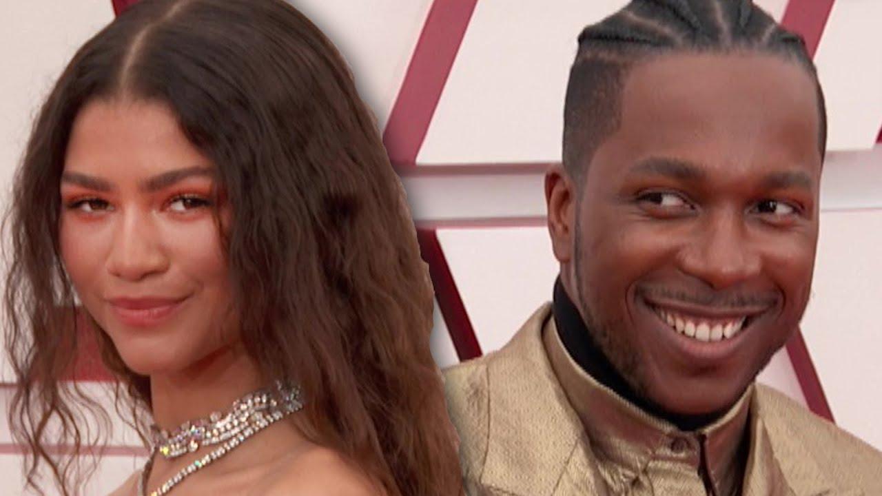 Zendaya & Leslie Odom Jr. Oscars 2021 Best Dress