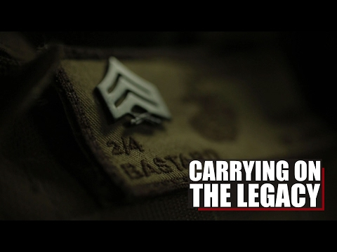 Carrying On The Legacy | 0352 Anti-Tank Missile man