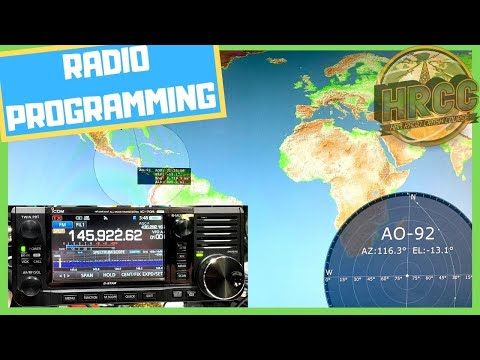 Programing ICOM IC-705 For Repeaters (D-STAR, FM) & Satellite Tracking With Ham Radio Deluxe