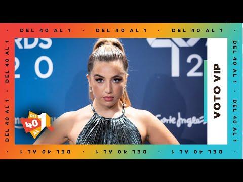 El VOTO VIP de LOLA ÍNDIGO  es para… | Del 40 al 1 en LOS40