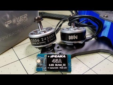 iFlight ION 2506 Motors + iPeaka 45A ESC   - default