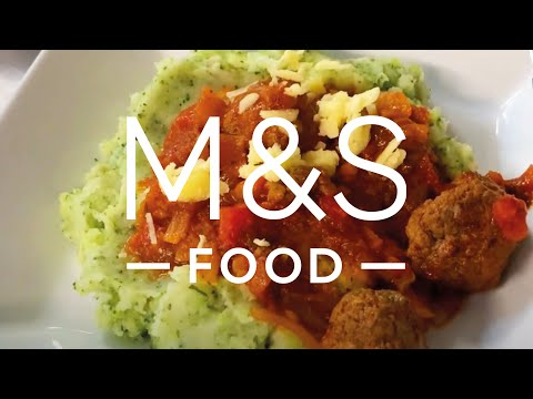 marksandspencer.com & Marks and Spencer Promo Code video: Chris' cheesy melting middle meatballs | M&S FOOD