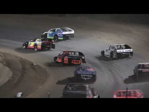 I.M.C.A A-Feature at Crystal Motor Speedway, Michigan on 09-18-2021!! - dirt track racing video image