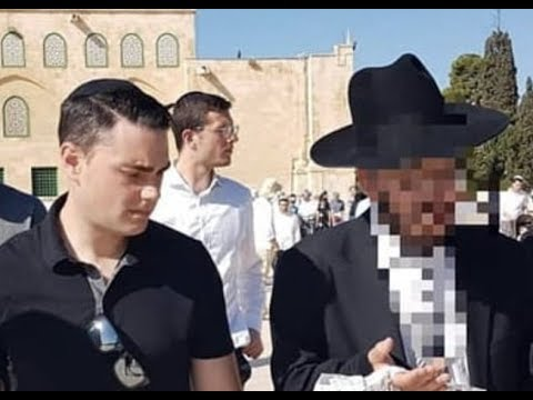 Breaking: Ben Shapiro Kicked Off The Temple Mount