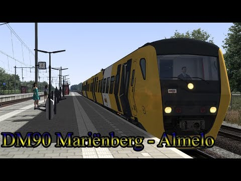 Afscheidsrit DM90  Train Simulator 2018