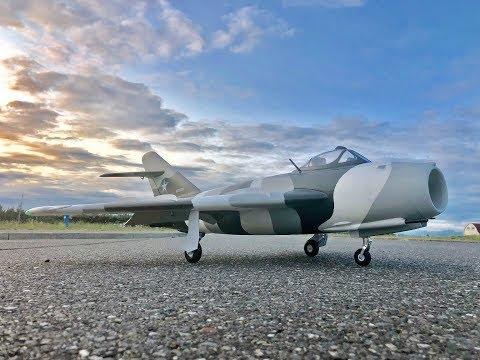 Avios Mig-17 Fresco SLOWWWW LANDING from HobbyKing - UCLqx43LM26ksQ_THrEZ7AcQ