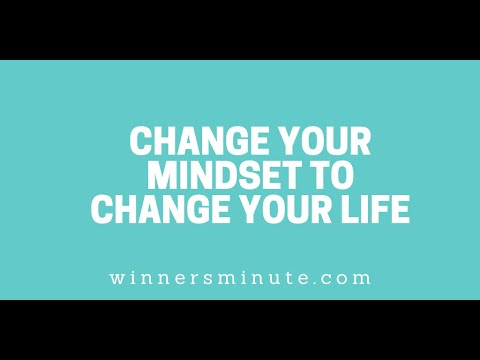 Change Your Mindset to Change Your Life // The Winner's Minute With Mac Hammond