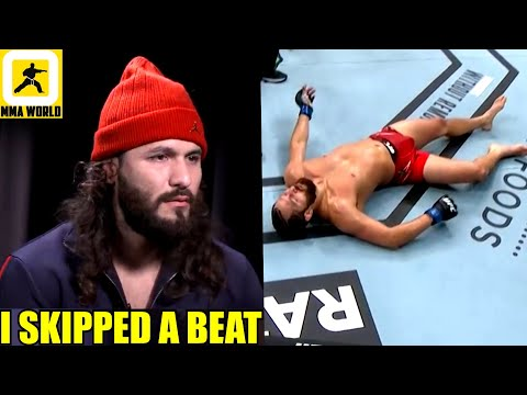 Jorge Masvidal thought about retiring from the Sport of MMA after first career KO loss to Usman,DC