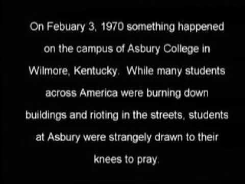 REVIVAL THAT CAME DURING A TIME OF RIOTING IN ASBURY 1970