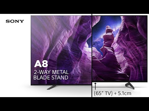 Sony A8 – 2-way metal blade stand