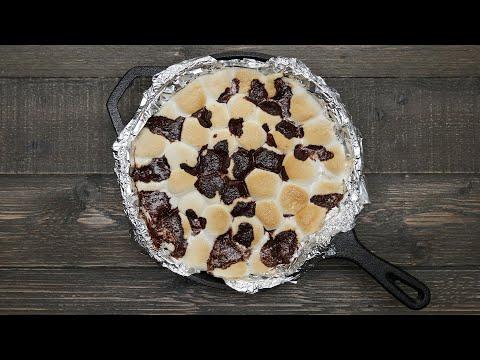 Skillet Brownie S?mores ? Tasty