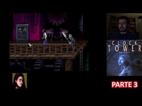 CLOCK TOWER (SNES) - Parte 3 FINAL - Gameplay en Español
