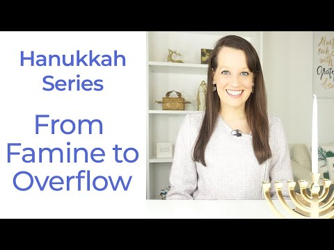 Hanukkah Day 2- From Not there- to overflow!