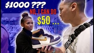 SHOPPING SPREE SPENDING OVER $1000 HYPE LIMITED SNEAKERS @SNEAKERCON BAY AREA