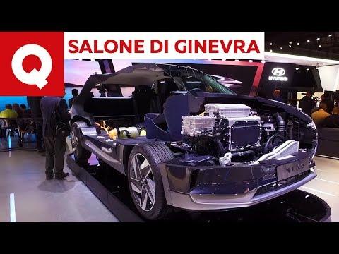 Hyundai Nexo: la fuel cell coreana al Salone di Ginevra 2018 | Quattroruote