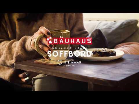 BAUHAUS Gör det själv - Bygg ett soffavlastningsbord