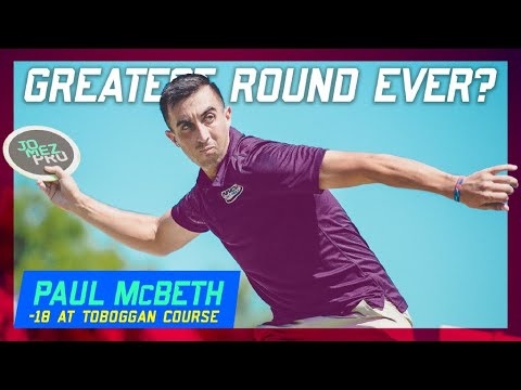 Greatest Disc Golf Round Ever? Paul McBeth Shoots 18 Down | 2018 Great Lakes Open, Round 2 - UCmGyCEbHfY91NFwHgioNLMQ