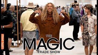 'Mid90s' Star Olan Prenatt Visits The MAGIC Show Brands