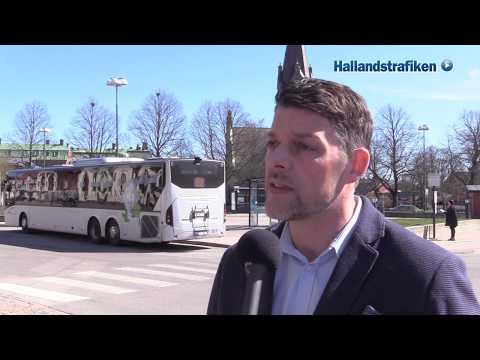 Förslag till nya biljettzoner i Halland.