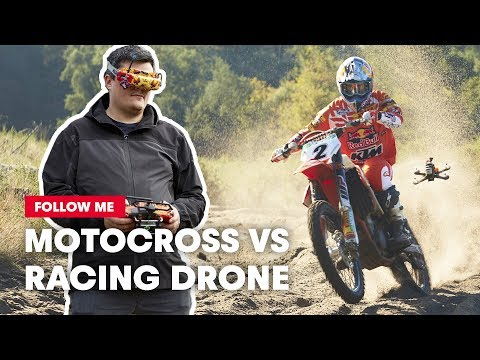 FPV Racing Drone Films A Motocross Racer Shredding A Sand Track | Follow Me - UC0mJA1lqKjB4Qaaa2PNf0zg