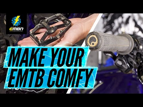 How To Make Your E-Bike Comfortable | EMTB Set Up Tips