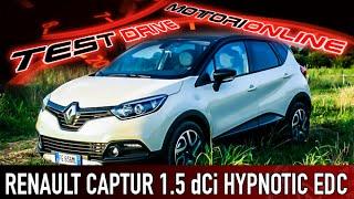 Renault Captur 1.5 dCi Hypnotic EDC | Test Drive – Pregi e Difetti