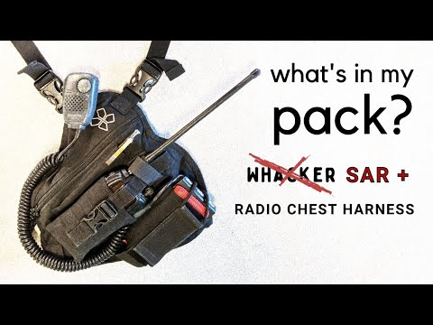 What's In My Pack - Radio Chest Harness edition