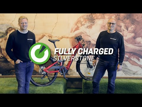 Fully Charged Silverstone X British Grand Prix | Comparing Cars to eBikes