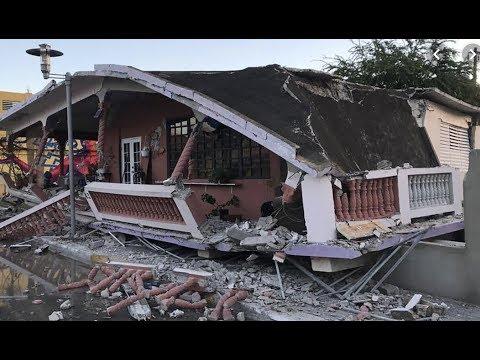Breaking MEGAQUAKE Hits Puerto Rico 6.4 As 1 Dead Many Hurt / Australia Mega Fires Rage On