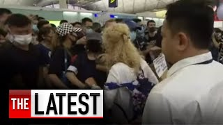 Hong Kong cancels flights for a second day after further protests | 7NEWS