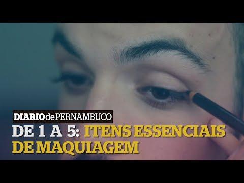 De 1 a 5: cinco itens essenciais de maquiagem