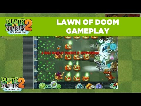 Lawn of Doom Gameplay | Plants vs. Zombies 2 | Live From PopCap