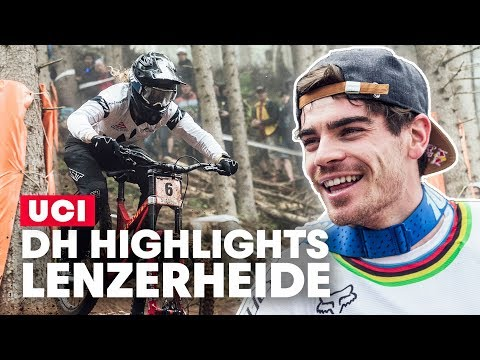 The Race That Changed a Season | UCI DH World Cup Lenzerheide Highlights 2019 - UCXqlds5f7B2OOs9vQuevl4A